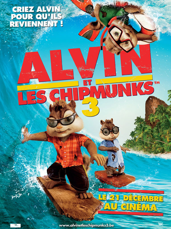 Alvin et les Chipmunks 3 | Multi | DVDRiP