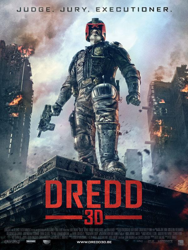 Dredd (2012) affiche