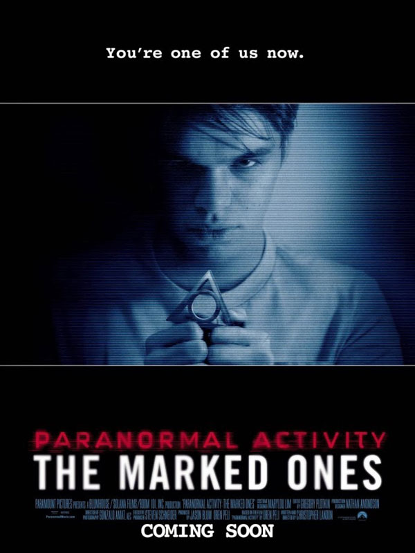 paranormal the marked ones