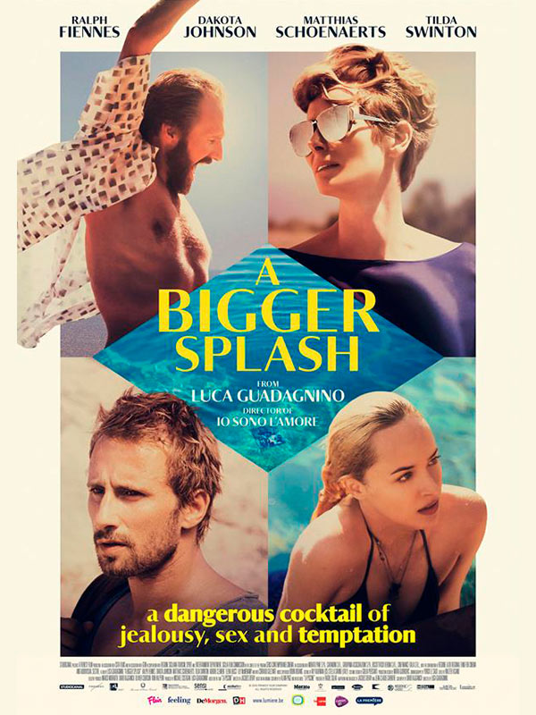 A bigger splash cinebel for Film a bigger splash