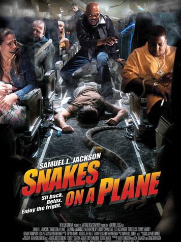 Scène de sexe en serpents dans un avion