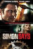 "L'affiche du film ""Simon says"""
