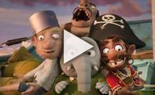 Bande-annonce du film Mika et Sebastian: L'Aventure de la Poire géante